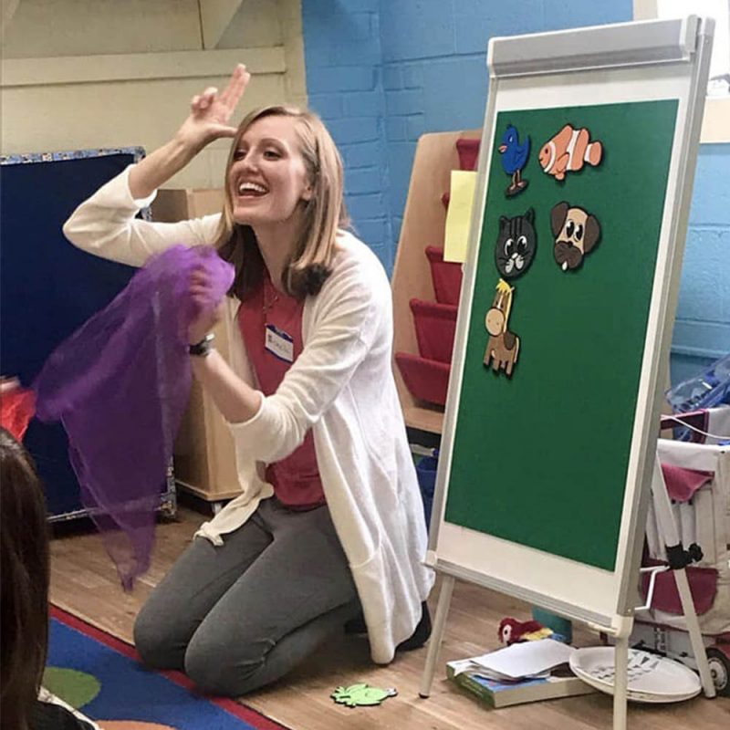 Communication Station Pediatric Speech Therapy learning children Sign Language
