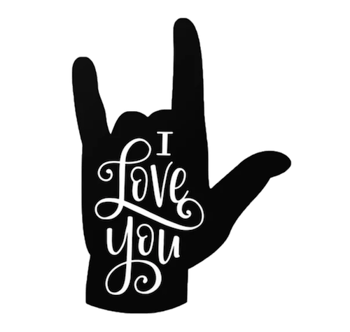 sign-language I love you