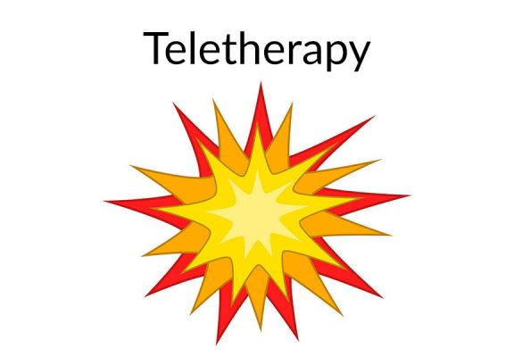 Teletherapy icon Communication station